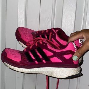 Pink Adidas Endless Energy Boost Running Sneakers
